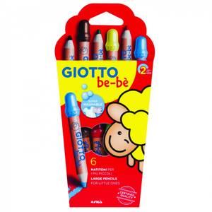 Bilde av Giotto Be-bé jumbo fargeblyanter 6pk